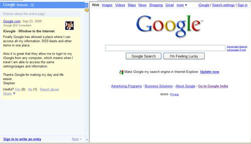 google-side-wiki