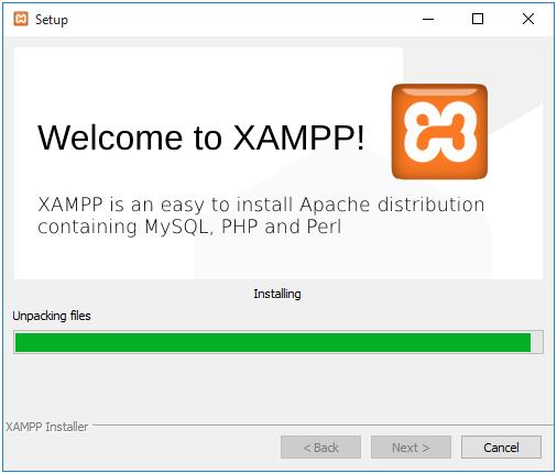 Xampp-installing