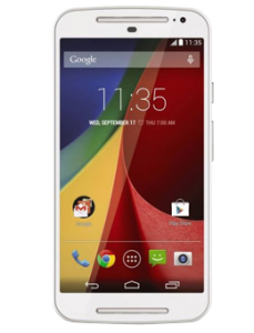 Motorola Moto G 2nd Generation 16GB White