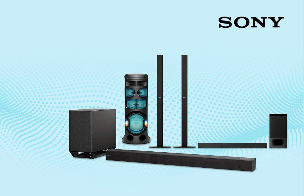 Sony Audio Sound Systems